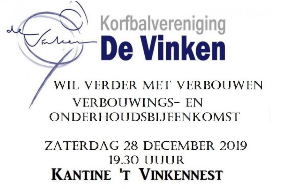 Bouwbijeenkomst 28 december