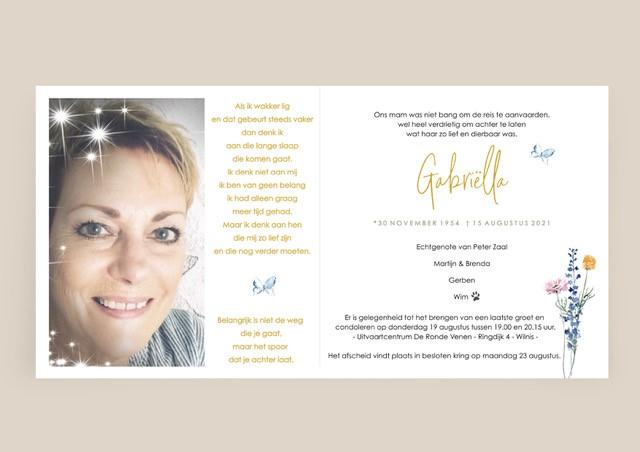 Afscheid van Gabriëlla